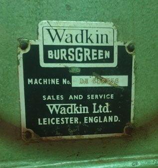 Used Wadkin Morticer